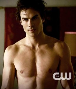 Damon Salvatore from The Vampire Diaries