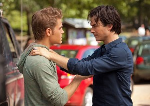 Stefan and Damon from The Vampire Diaries