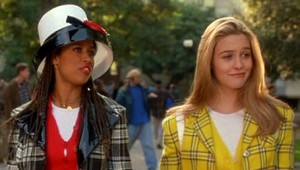 Dionne and Cher, with fabulous Dionne headwear