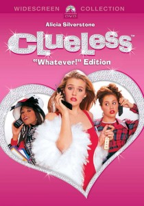 Clueless whatever edition DVD cover