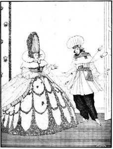 I will have it so replied the queen and will eat her with a sauce robert harry clarke