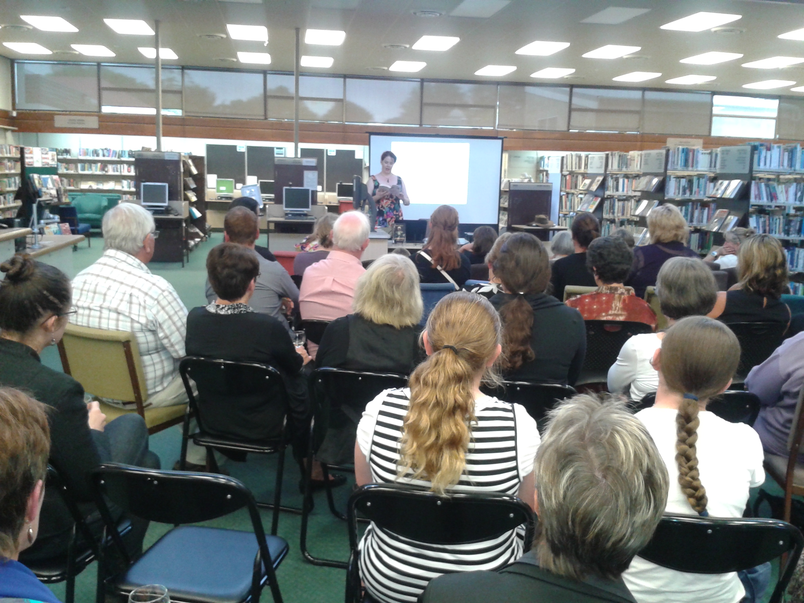 When We Wake Launch in Oamaru Library