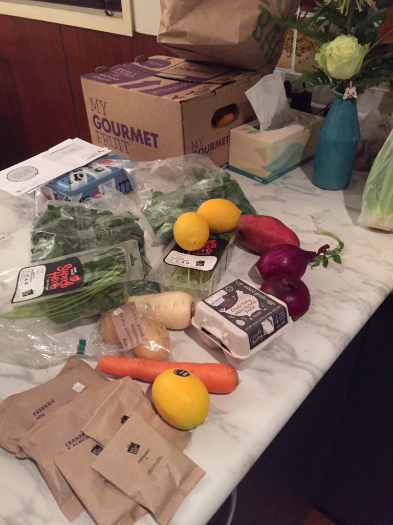 veges and wee packets